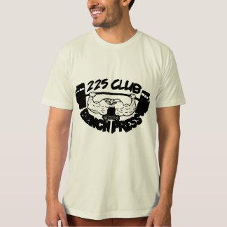 225 Club Bench Press Organic T-Shirt