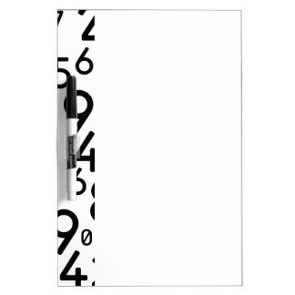225 RANDOM NUMBERS FRACTIONS MATH ARITHMETIC LEARN Dry-Erase WHITEBOARD