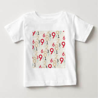 225colored 225 RANDOM NUMBERS FRACTIONS MATH ARITH Baby T-Shirt