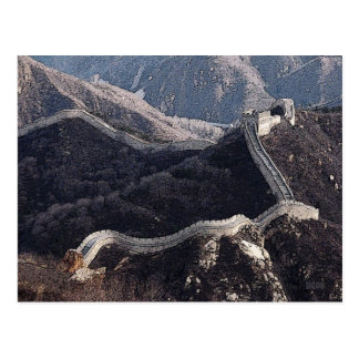 227 - La Gran Muralla de China Tarjetas Postales