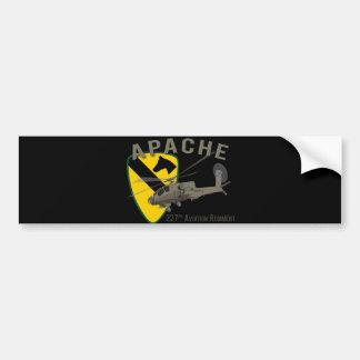 227o Aviación Apache Pegatina De Parachoque