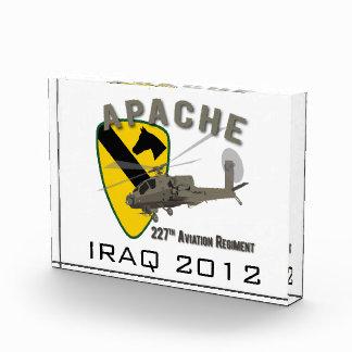 227th Aviation Apache Acrylic Award