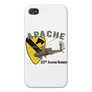 227th Aviation Apache iPhone 4/4S Cover