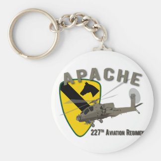 227th Aviation Apache Keychain