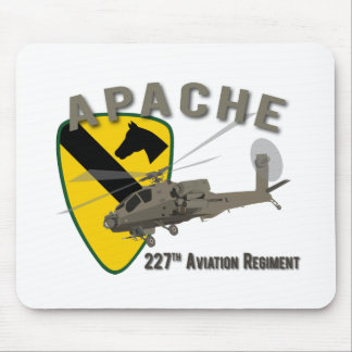 227th Aviation Apache Mouse Pad
