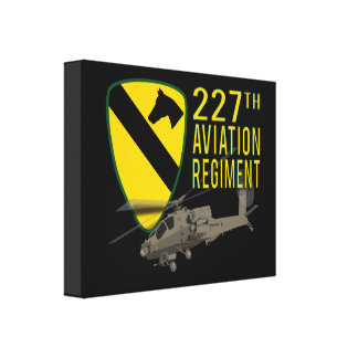 227th Aviation Regiment Apache Canvas Print