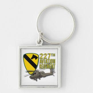 227th Aviation Regiment Apache Keychain