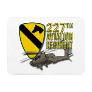 227th Aviation Regiment Apache Rectangle Magnet