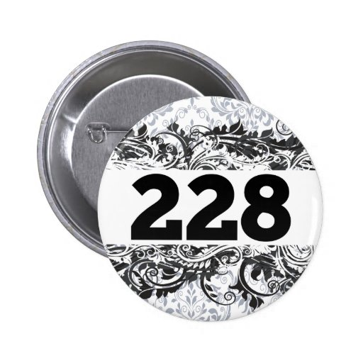 228 PINBACK BUTTONS
