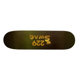 229 Area Code Swag Skateboard