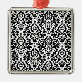 229 BLACK WHITE DECORATIVE PATTERN BACKGROUNDS WAL METAL ORNAMENT