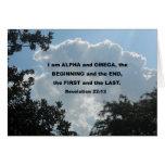 22:13 de la revelación soy alfa y Omega… Tarjetón