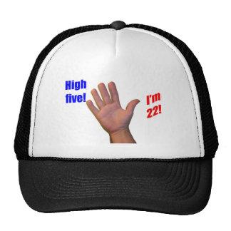 ¡22 altos cinco! gorra