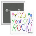 ¡22 años de la roca! pin