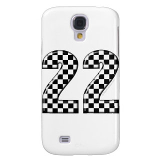 22 auto racing number galaxy s4 case