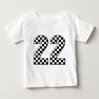 22 auto racing number tshirts