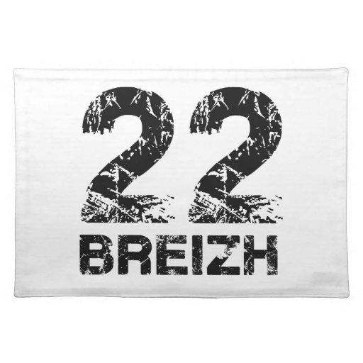 22 Breizh Cloth Place Mat