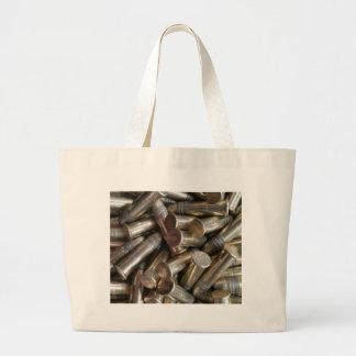22 Caliber Bullets Large Tote Bag