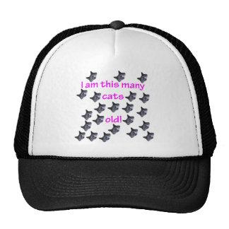 22 Cat Heads Old Trucker Hat