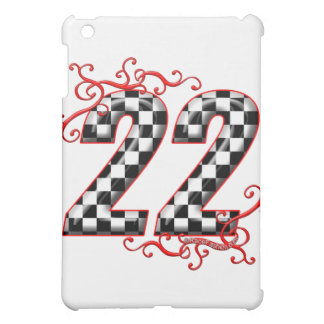 22 checkers flag number case for the iPad mini