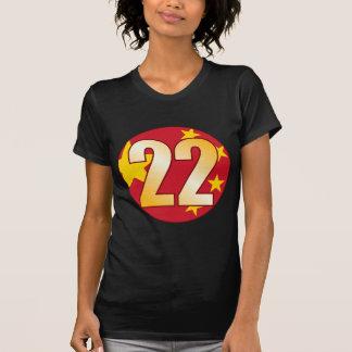 22 CHINA Gold T-Shirt