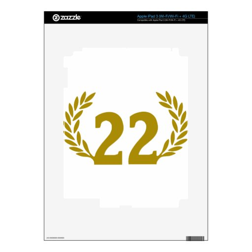 22 corona-radici.png pegatinas skins para iPad 3