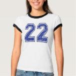 22 Custom Jersey T-Shirt