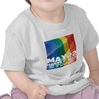 22 de mayo día de Harvey Milk Camiseta