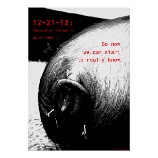 22 December 2012 So now we can begin to know Posters