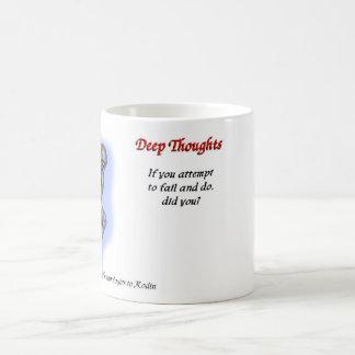 22 Deep thoughts - fail mug