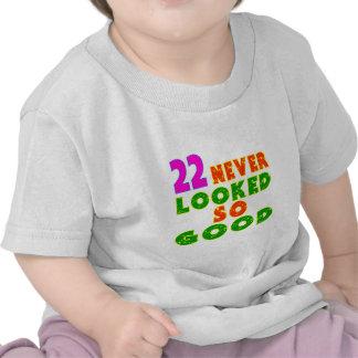 22 diseños tan buenos nunca mirados del cumpleaños camisetas