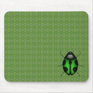 22 Green Rainbow bugs Table Pad/floor protection Mouse Pad