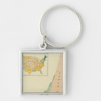 22 Growth elements of population 17901890 Key Chain