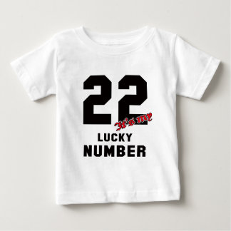 22 It's my lucky number T-shirt