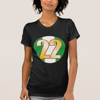 22 NIGERIA Gold T-Shirt