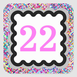 22 - Numbers Stickers