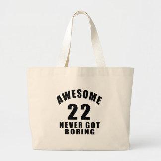22 nunca conseguidos el taladro bolsa tela grande
