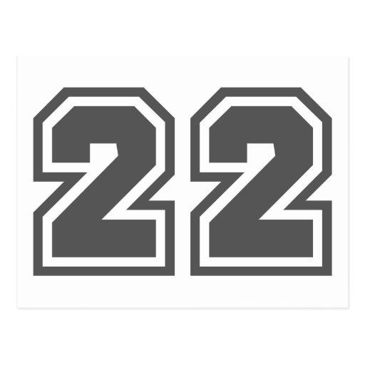 22 TARJETAS POSTALES