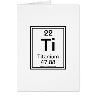 22 Titanium Card