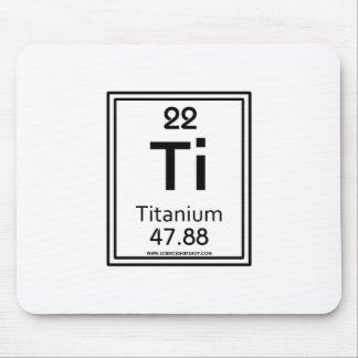 22 Titanium Mouse Pad