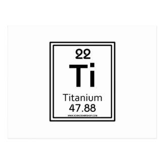 22 Titanium Postcard