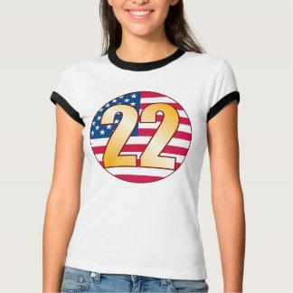22 USA Gold T-Shirt