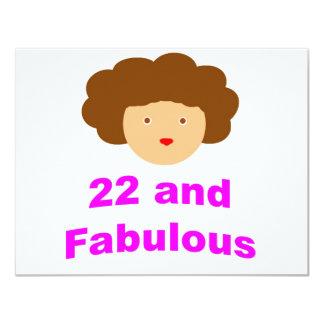 ¡22 y fabuloso! comunicados