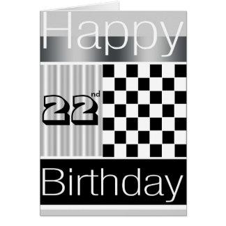 22do Cumpleaños Tarjeton