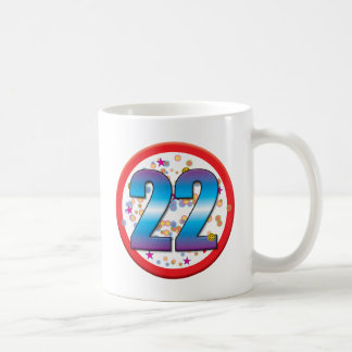 22do Cumpleaños v2 Taza De Café