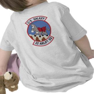 22do Escuadrilla del puente aéreo Camisetas