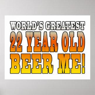 22dos cumpleaños divertidos: Años más grandes de Póster