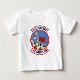 22nd Airlift Squadron Baby T-Shirt