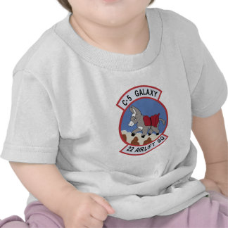 22nd Airlift Squadron T Shirt
