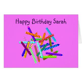22nd Birthday Gifts Card